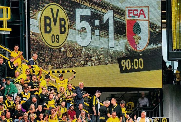 독일프로축구 도르트문트가 새시즌 개막전에서 아우크스부르크를 5-1로 대파했다. [사진 도르트문트 인스타그램]
