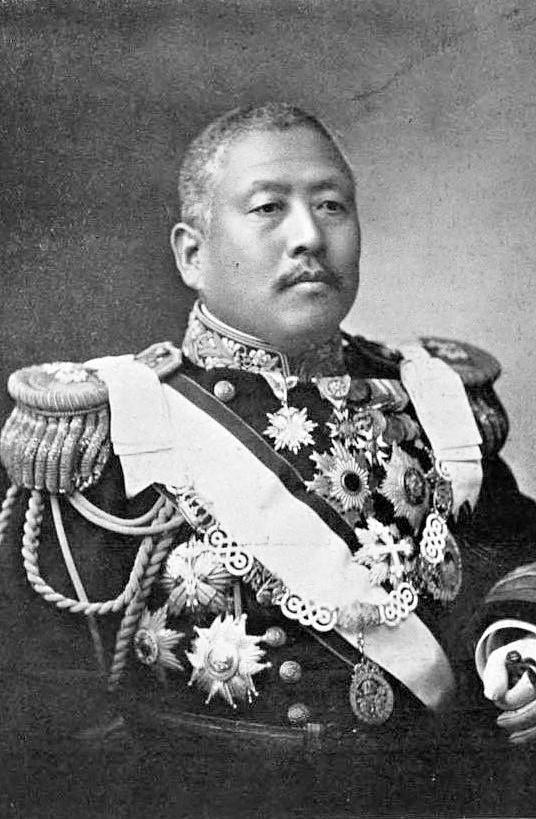 일본 총리와 조선총독을 지낸 사이코 마코토가 해군 제독이던 1910년 경의 모습. [위키피디아]