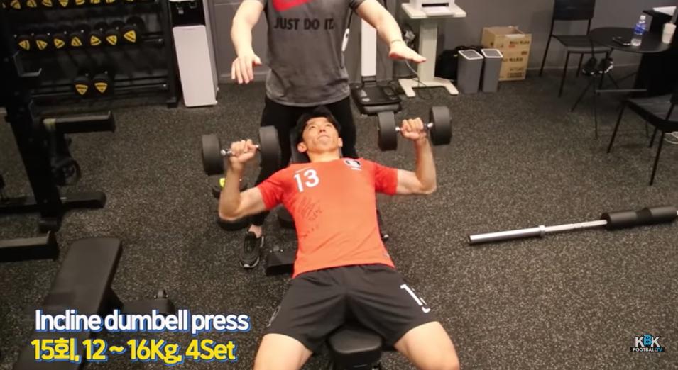 김보경은 유튜브를 통해 자신의 훈련법을 공개하고 있다. [사진 KBK Football TV 캡처]