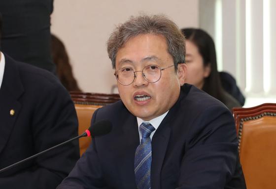 국회 법사위 더불어민주당 송기헌 간사. [연합뉴스]
