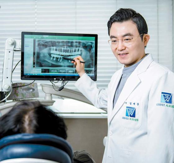 임세웅 원장은 절개 없는 뼈 이식 등 특화된 기법으로 임플란트 성공률을 높인다. 프리랜서 김동하