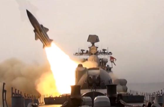 러시아의 모스키토 대함 미사일. [타스=연합뉴스]