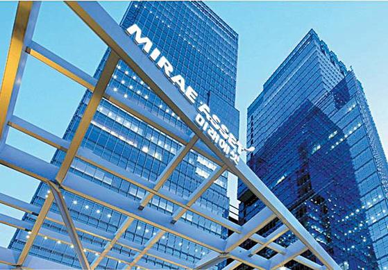 서울 중구 을지로에 있는 미래에셋대우 센터원 건물 전경. [사진 미래에셋금융그룹]