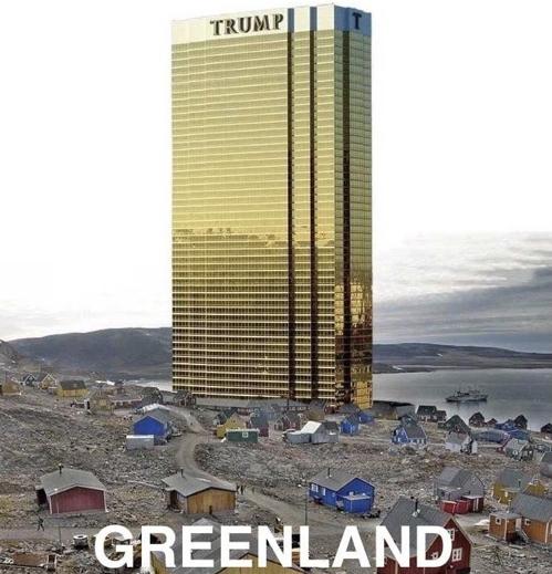 트럼프 대통령이 트위터에 올린 '트럼프 호텔' 합성 사진 [사진 트위터 캡처]