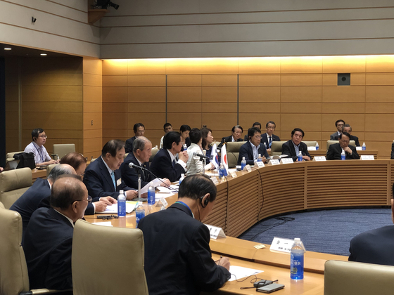20일 도쿄의 중의원 의원회관에서 한국 헌정회와 일본 의원들이 공동 주최한 한일관계 세미나가 열렸다. 서승욱 특파원