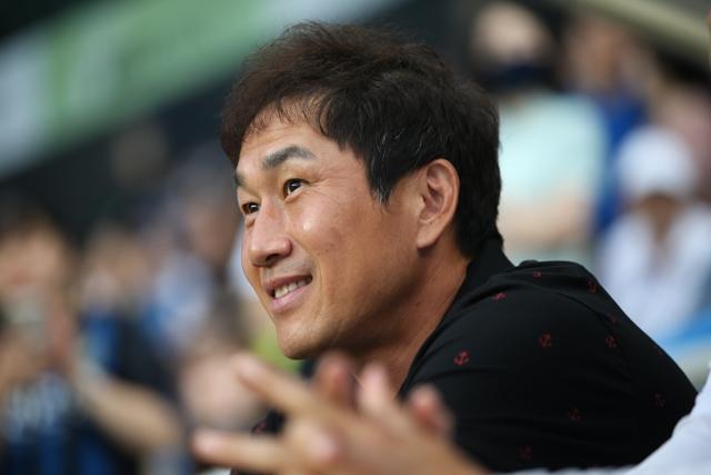 유상철 인천 유나이티드 감독. 한국프로축구연맹
