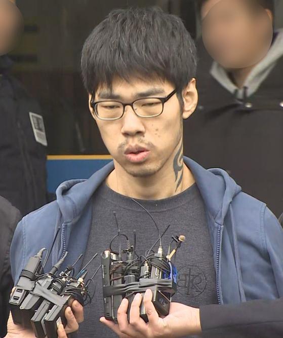 강서구 PC방 살인사건 피의자 김성수. [연합뉴스TV]