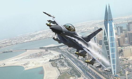 F-16 전투기 최신기종인 F-16V.[사진 록히드마틴]