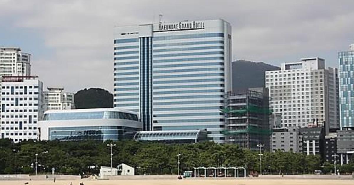 해운대 그랜드호텔 전경. [연합뉴스]