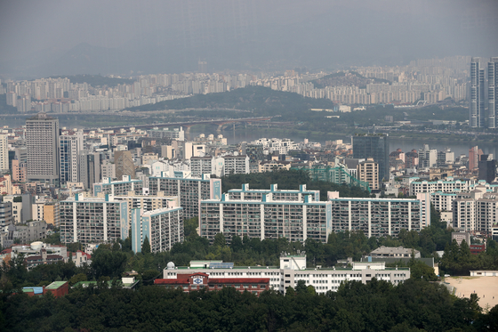22일 서울 강남의 아파트 단지 [뉴스1]