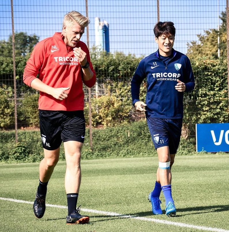 독일프로축구 보훔은 인스타그램을 통해 이청용의 훈련복귀를 알렸다. [사진 보훔 인스타그램]