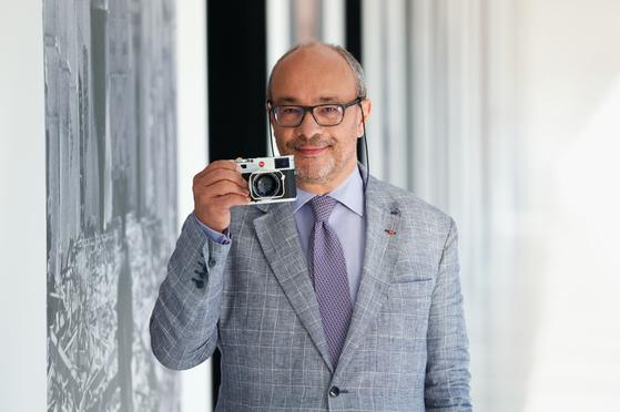 2006년 취임해 '라이카 제2의 부흥기'를 이끌고 있는 안드레아스 카우프만 회장.