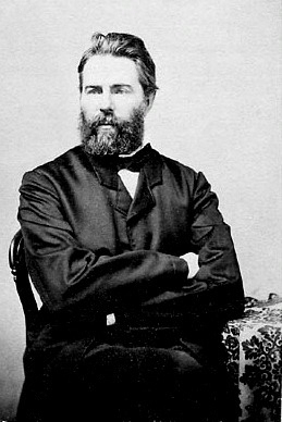 허먼 멜빌(1819~1891),[사진 위키피디아]
