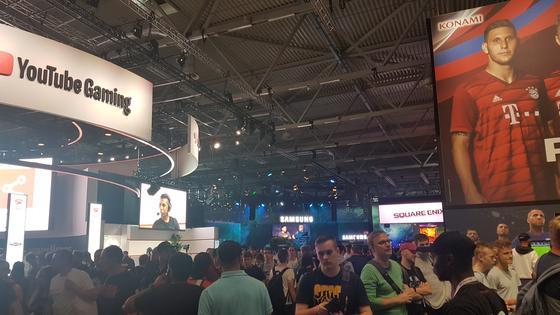 지난 20일부터 독일 쾰른에서 열린 게임스컴에는 구글, 페이스북 등 글로벌 IT업체들이 다수 부스를 설치했다. 쾰른(독일)=박민제 기자