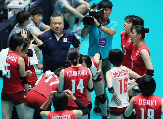 일본 여자 배구 대표팀. [연합뉴스]