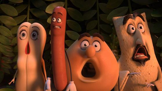 성인을 위한 애니메이션 '소시지 파티'. [사진 IMDb]