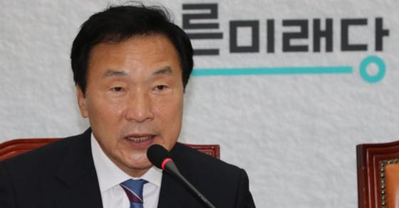 손학규 바른미래당 대표. [연합뉴스]
