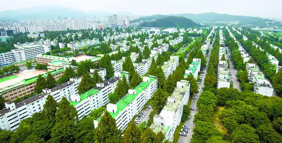 서울 반포 주공 1단지 전경. [뉴스1]