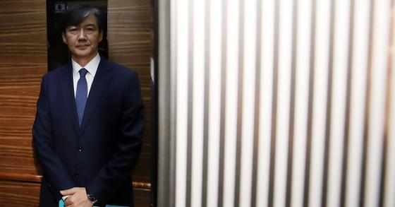 조국 법무부 장관 후보자 [연합뉴스]