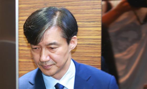 조국 법무부 장관 후보자. 강정현 기자