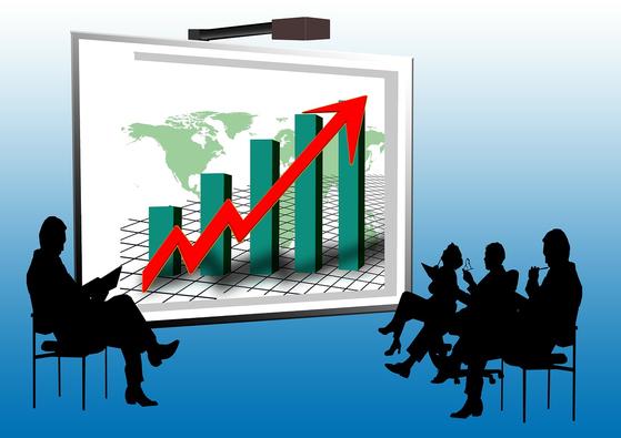 세계적인 안전자산 선호로 채권에 돈이 몰리면서 회사채 가격도 오르고 있다. 반대로 금리는 낮아지면서 대기업은 잇따라 회사채를 발행하고 있다. [사진 pixabay]