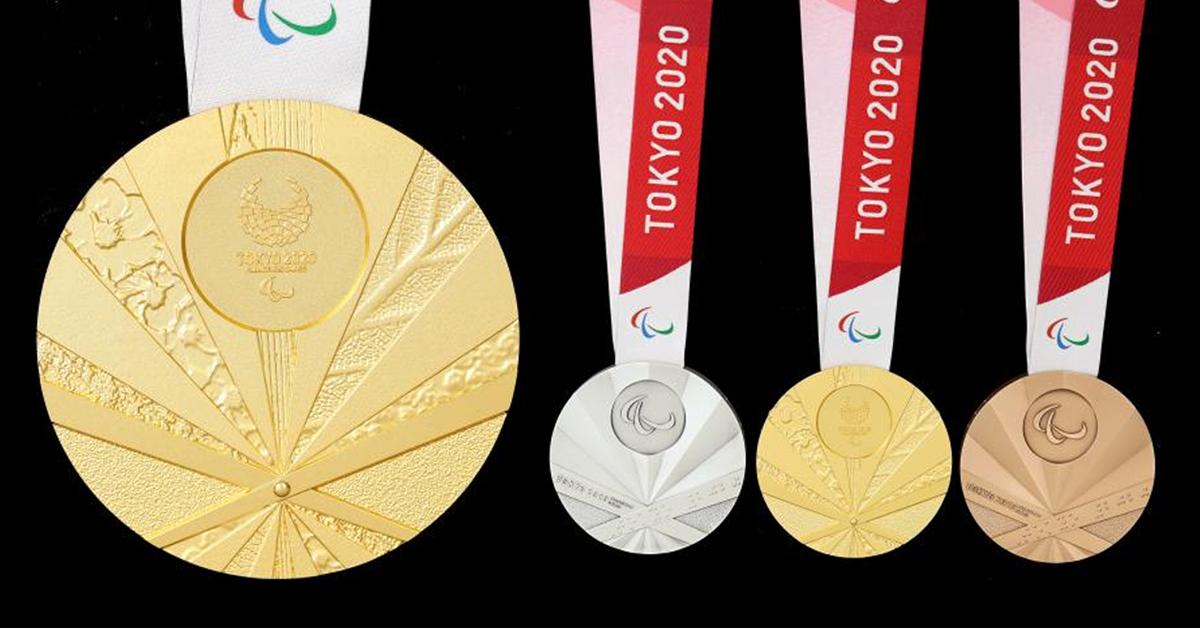 2020도쿄패럴림픽 메달이 공개됐다. [사진 2020도쿄패럴림픽 공식 홈페이지]