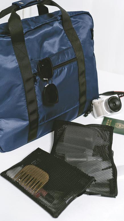 북유럽 라이프스타일 브랜드 '그라니트'의 여행용 상품은 간단한 소품을 넣는 미니 크로스백부터 캐리어 대신 쓸 수 있는 핸드캐리 보스턴백까지 다양한 스타일 제품을 선보였다. [사진 삼성물산 패션부문]
