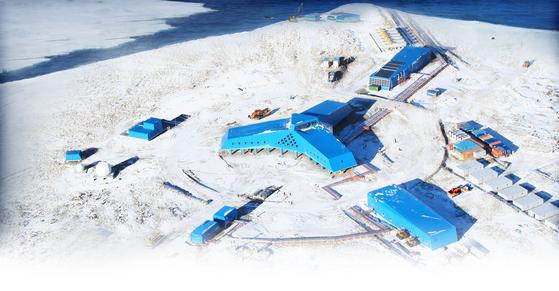 남극대륙에 있는 우리나라 장보고과학기지. 세종기지에 이어 두번째다. [사진 극지연구소]