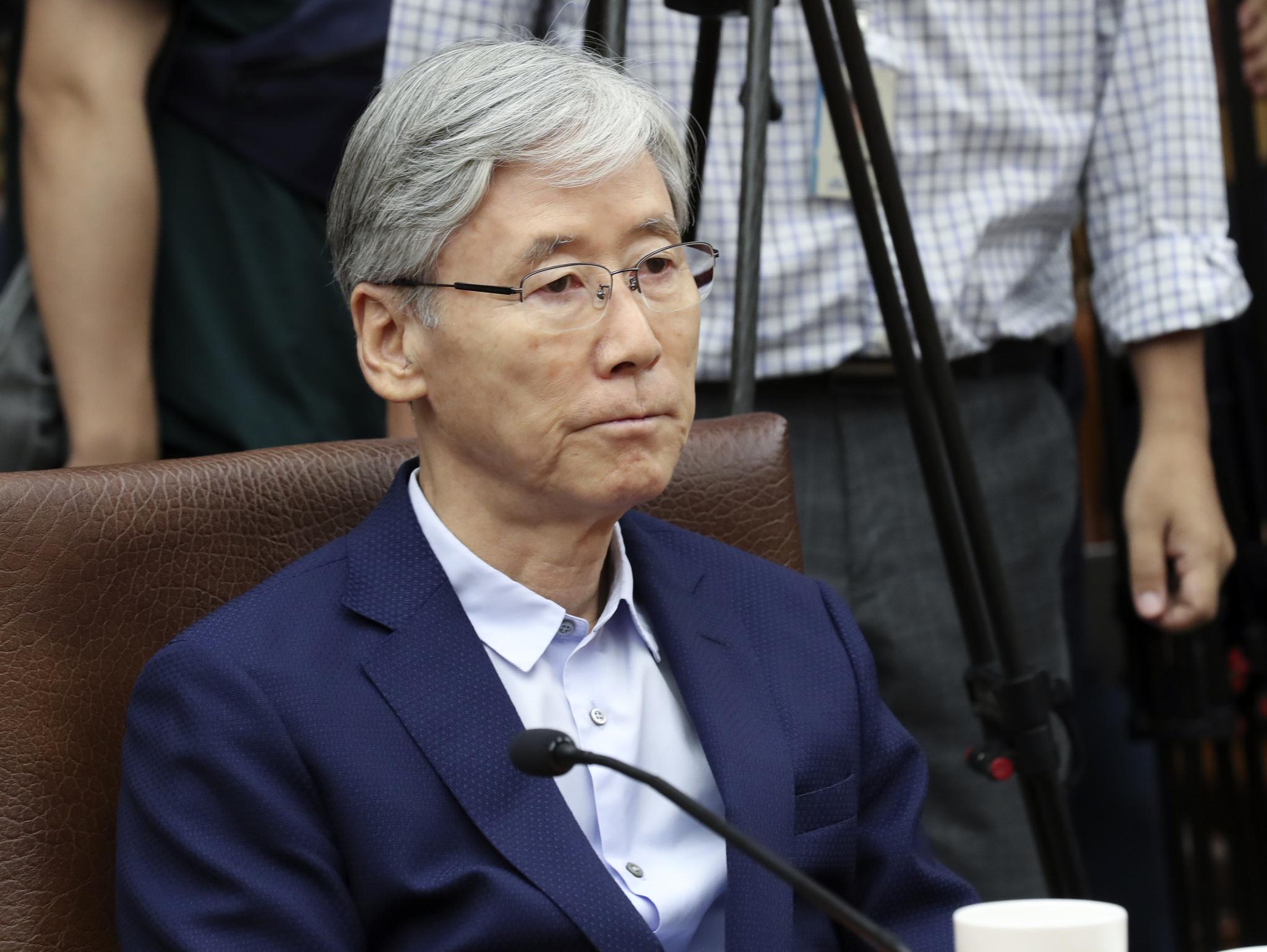여상규 국회법제사법위원장. 임현동 기자