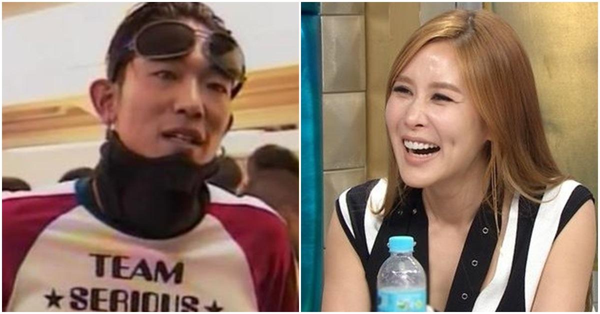 고 김성재(왼쪽)와 채리나. [인스타그램·MBC]