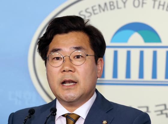 박찬대 더불어민주당 원내대변인. [뉴스1]