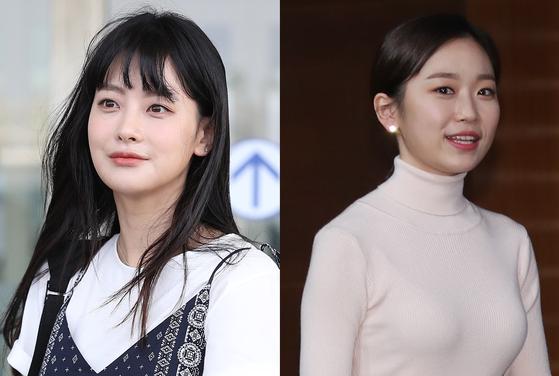 배우 오연서(왼쪽)와 김슬기. [일간스포츠]