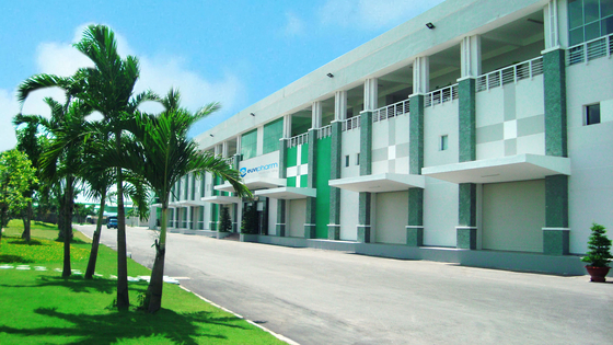 JW중외제약이 지분 100%를 인수한 베트남 제약사 유비팜. 이 회사는 베트남 내 상위 5위권의 생산량을 자랑한다. [사진 JW중외제약]