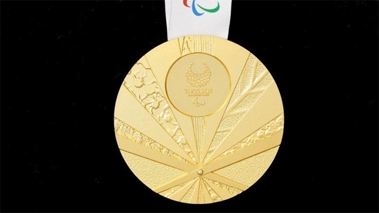 발표된 2020 도쿄하계패럴림픽 공식 메달. 도쿄패럴림픽 조직위원회 홈페이지 캡처