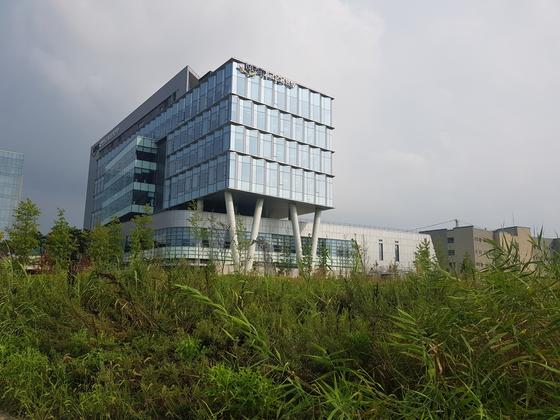 전북 전주에 있는 국민연금 기금운용본부 건물.