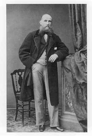 줄리안 폰타나. 쇼팽의 친구이자 조력자였지만 큰 도움은 받지 못했다. 1860년 경. 작가, Lagriffe. [사진 Wikimedia Commons]