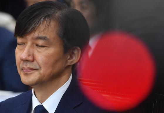 조국 법무부 장관 후보자가 6일 서울 여의도 국회에서 열린 인사청문회에 출석해 자리하고 있다. /190906 오종택 기자