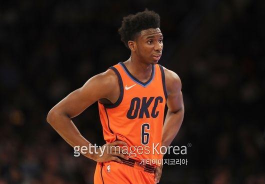 하미두 디알로의 모습. 디알로는 NBA 드래프트 컴바인에서 놀라울 만한 운동 능력을 보여줬지만 정작 정규시즌에서의 활약은 미미했다.