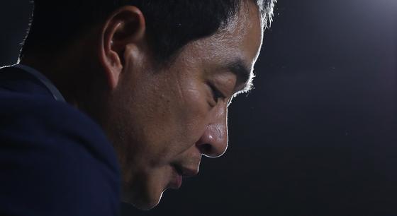지난 3일 취임 이후 6일만에 자진사퇴한 최인철 여자축구대표팀 감독. [연합뉴스]