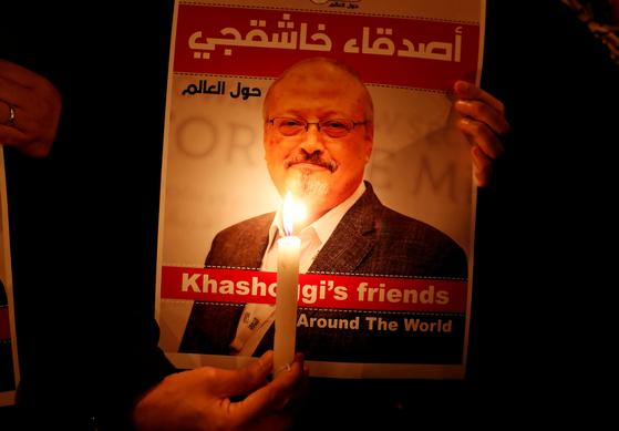 지난해 10월 터키 이스탄불의 사우디 영사관에서 목숨을 잃은 워싱턴포스트 칼럼니스트 자말 카슈끄지 사진. [로이터=연합뉴스]