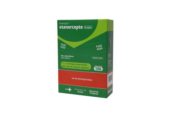 삼성바이오에피스가 브라질에 공급하는 자가면역질환 치료제 '브렌시스'. [사진 삼성바이오에피스]