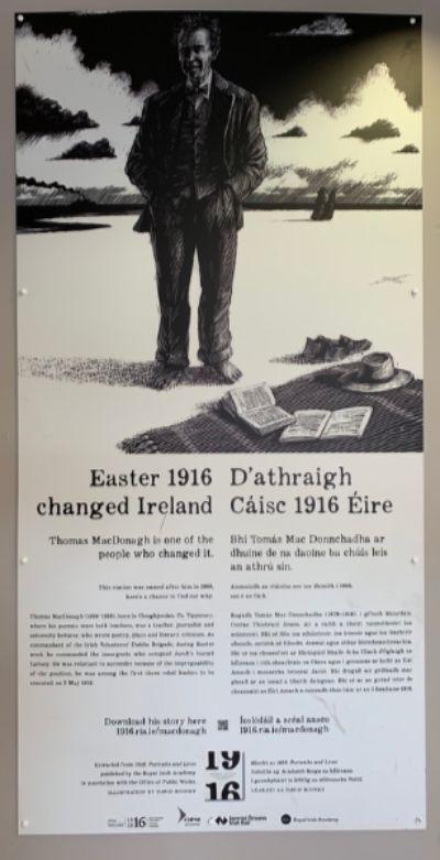 1916년 실패한 무장봉기였던 부활절 독립운동이 없었다면 지금의 아일랜드도 없다는 의식은 너무나 뚜렷하다. 아일랜드 사람들은 역사란 흘러 사라지는 것이 아니라 기억하여 새겨야 힘이 된다고 믿는다. [사진 박재희]