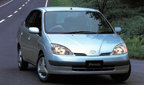 1997년 출시된 첫 하이브리드 자동차인 도요타 프리우스(Prius). [사진 한국도요타]