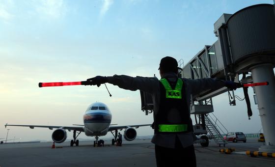 중국 국적 항공사의 비행기. *기사내용과 직접적인 관련 없습니다. [중앙포토]