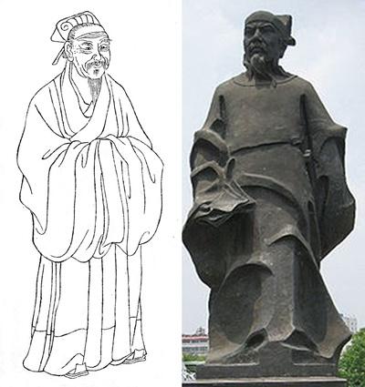 중국 남송의 유학자 주희(朱熹)와 진량(陳亮). [사진 Wikimedia Commons]
