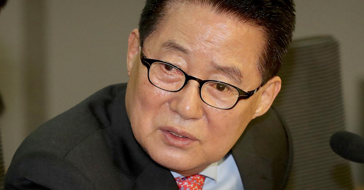박지원 '변화와 희망의 대안정치연대' 의원. [연합뉴스]
