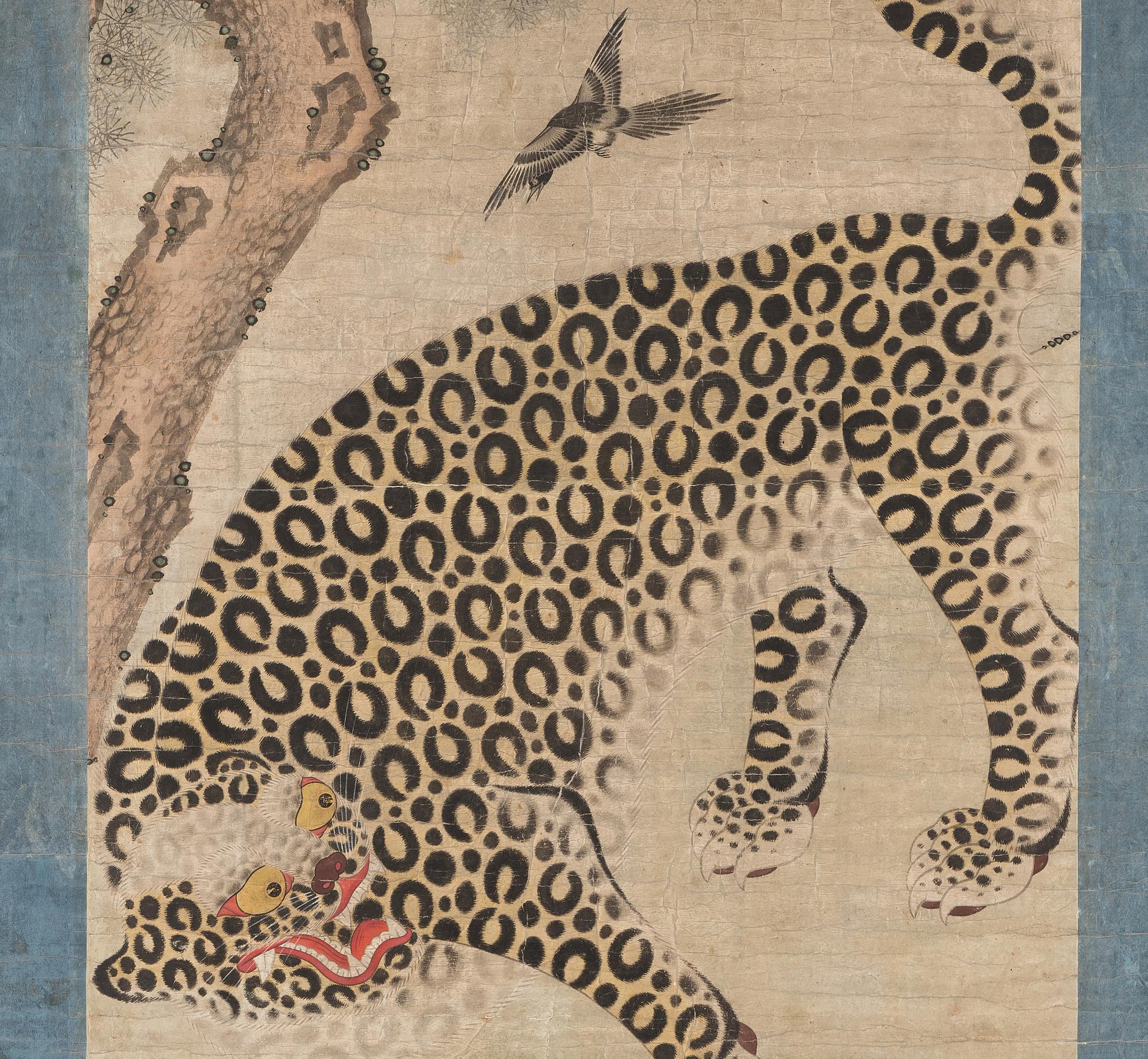 표작도 부분(스웨덴 동아시아박물관)                                   [사진 문화재청]