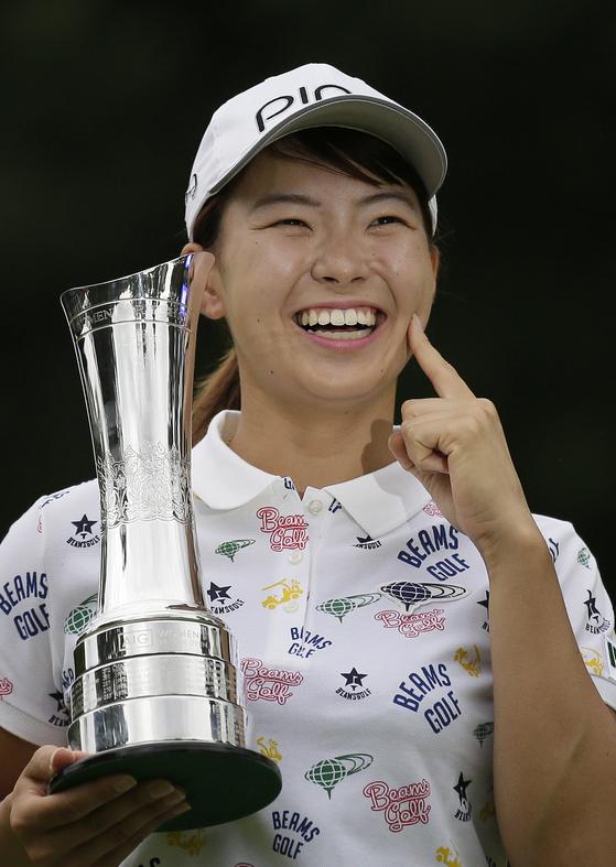 브리티시 여자오픈에서 우승한 시부노 히나코. [AP=연합뉴스]