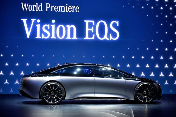 메르세데스-벤츠의 'Vision EQS'. [EPA=연합뉴스]