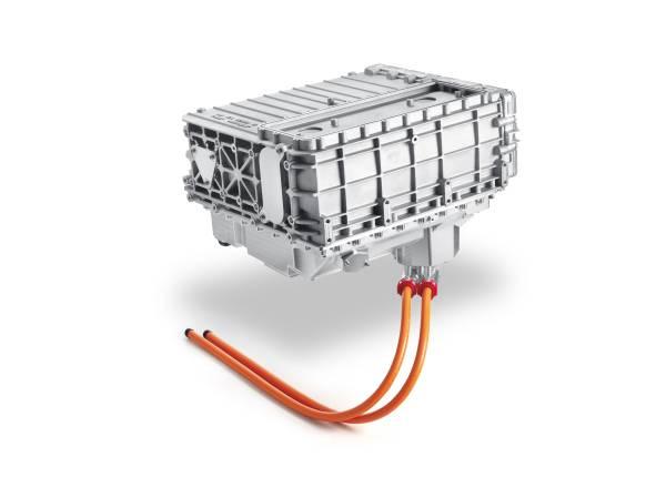 BMW i 하이드로젠 넥스트 콘셉트카에 장착된 연료전지 스택. 일본 도요타의 기술로 개발했으며 수소연료를 전기로 변환하는 장치다. [사진 BMW그룹]